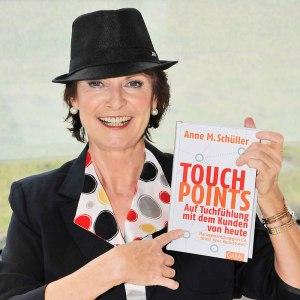 Keynote-Speaker Anne M. Schüller mit Ihrem Bestseller Touchpoints