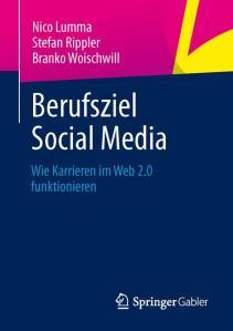 """Buchcover von """"Berufsziel Social Media"""""""
