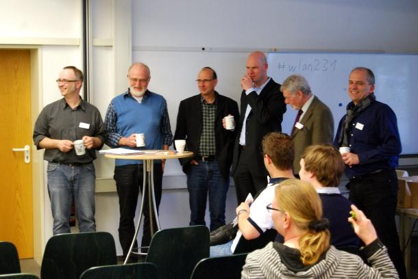 Der Freien-Treff 2014 des DJV-NRW im Journalistenzentrum Haus Busch