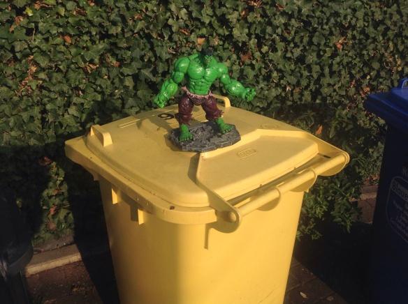 Müllschwund-Ärgernis