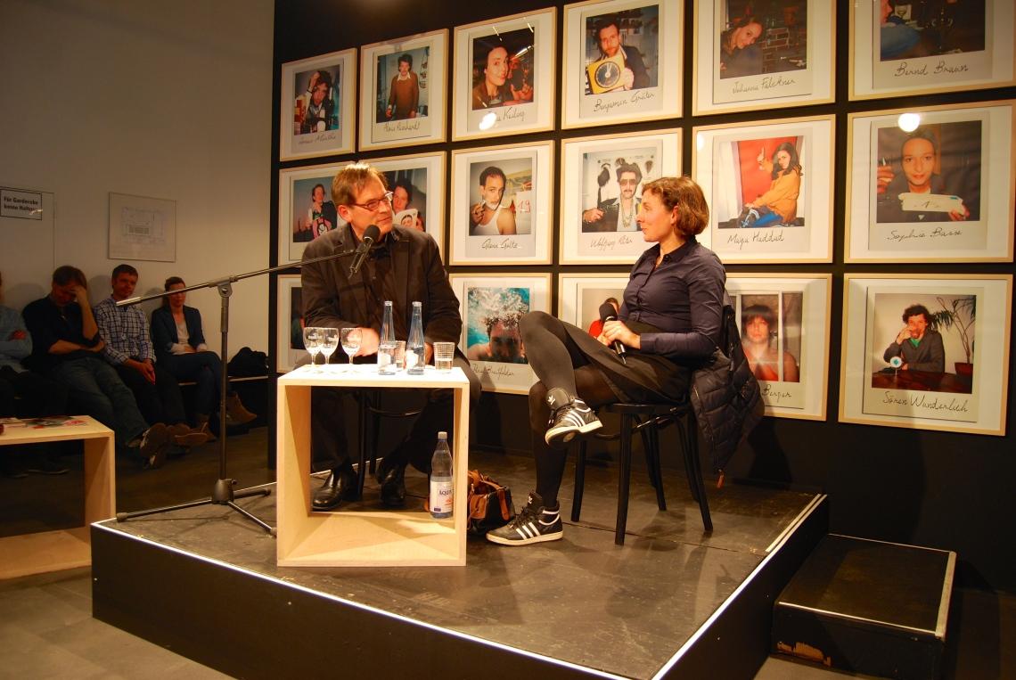 Brisantes Gespräche im Bonner Theater: David Eisermann und Juli Zeh