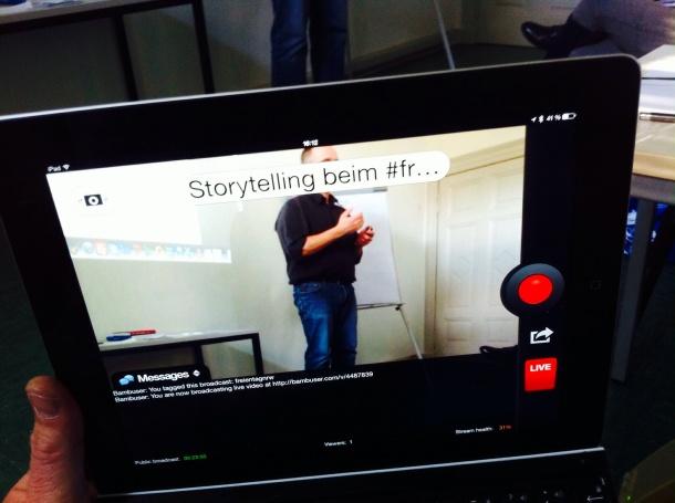Videokommunikation auf Knopfdruck