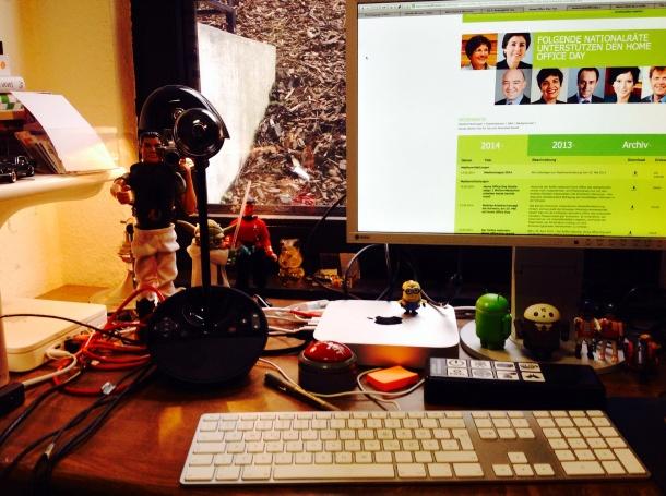 Home Office-Belegschaft