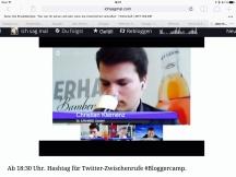 """Virtuelle Bierprobe bei Bloggercamp.tv: """"Video ist kein Abbild, sondern ein echter Einblick in unser Leben."""""""