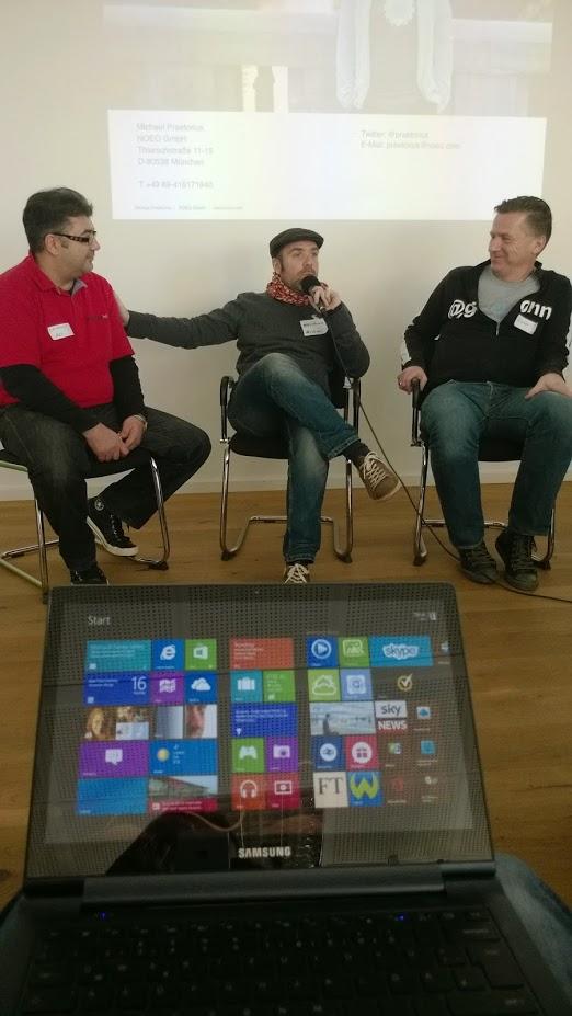 Livestreaming beim StreamCamp - in diesem Jahr in München am 18. und 19. Oktober