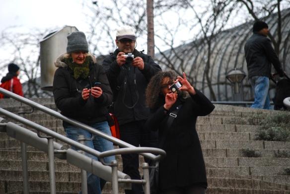 Vinewalker bei der mobilen Internet-Nutzung