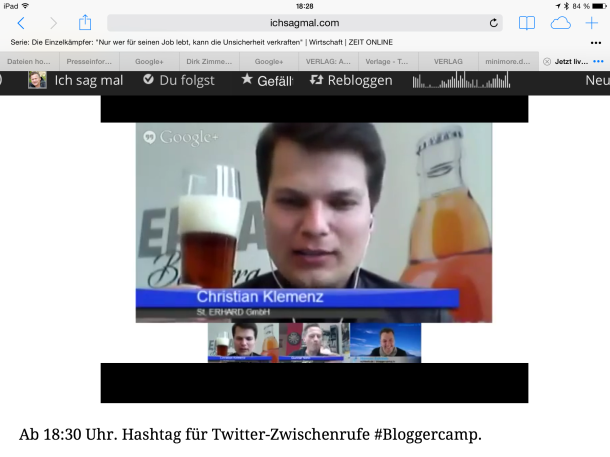 St. Erhard bei Bloggercamp.tv