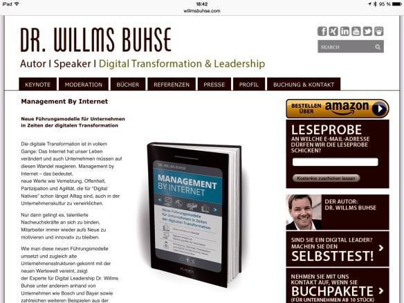 Neues Buhse-Opus