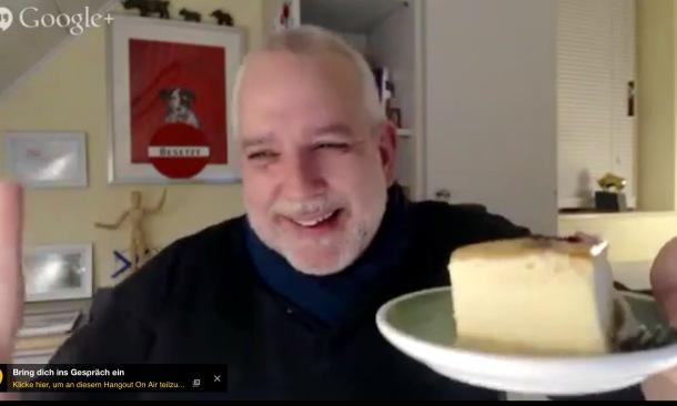 Käsekuchen-Selbstversorger Frank Michna
