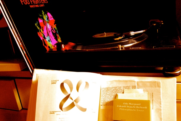 Schallplatten und die McLuhan-Tetrade