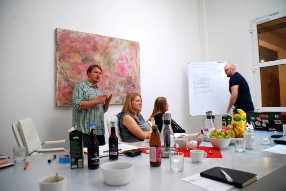 YouTube Workshop mit Dave