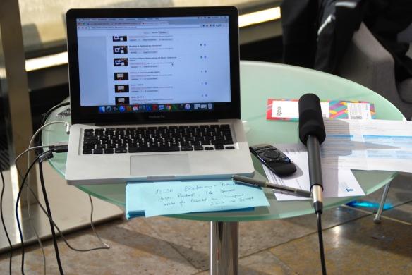 Mobiles SocialTV-Studion beim #ibmbcde