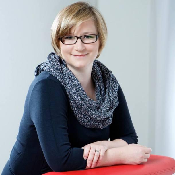 Franziska Bluhm, Leiterin für Digitale Vernetzung bei der Verlagsgruppe Handelsblatt