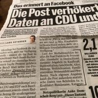 """Verkauf von Daten: Fragen an @DeutschePostDHL und Antworten - """"Bitte haben Sie Verständnis, dass wir darüber hinaus keine O-Töne dazu abgeben"""""""