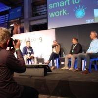 Lernen der Zukunft mit Christoph Beutgen (Deutsche Bahn), Lutz Marten (IBM), Tobias Pickl (Audi) #rp18 #HRFestival