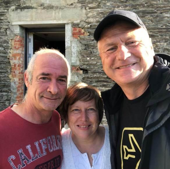 Philippe, Catherine und Gunnar