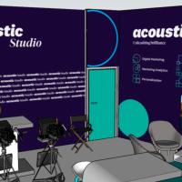 Acoustic auf der DMEXCO 2019 - Acoustic Studio mit Gesprächen zu aktuellen Marketingthemeni