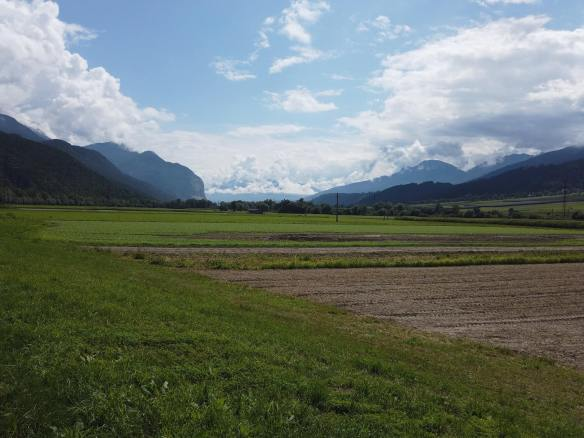 Weg nach Innsbruck